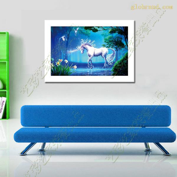 客厅最时尚装饰画十字绣小品梦幻仙境