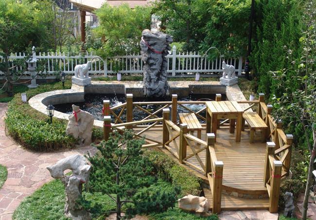 景观鱼池设计养鱼池设计|锦鲤鱼池设计|金碧林鱼池设计