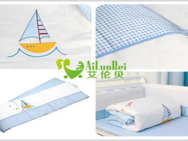艾伦贝婴儿床上用品招商加盟