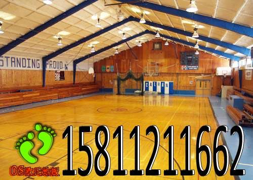 山东篮球场木地板 专业篮球木地板价格 篮球场双层木地板 颜色