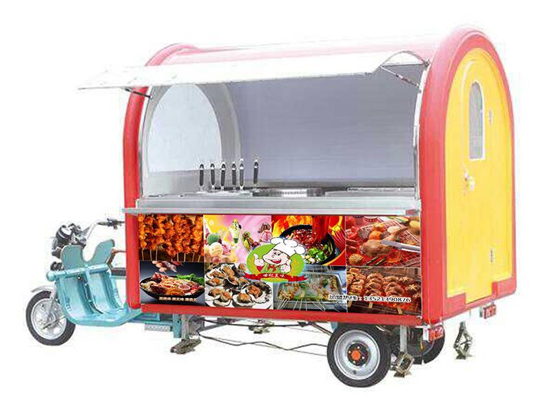 世纪美味小吃车招商加盟