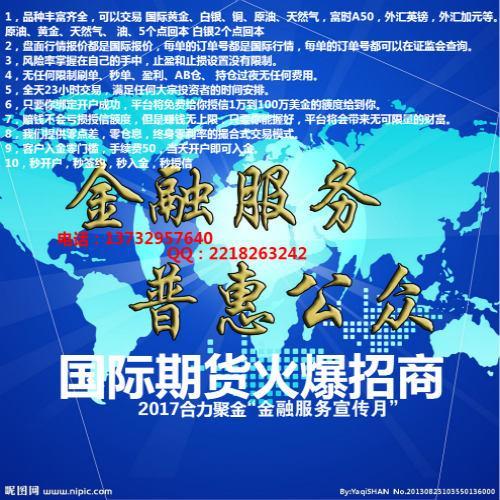 国际期货外盘期货加盟