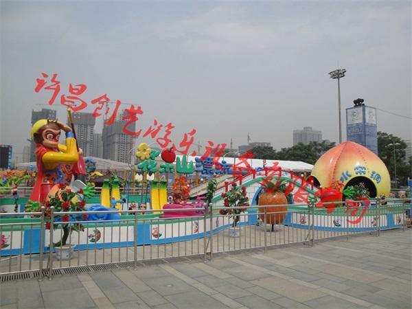 花果山漂流8座公园游乐设备招商