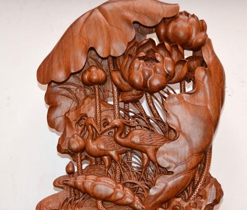 藝天鵝木雕工藝品加盟