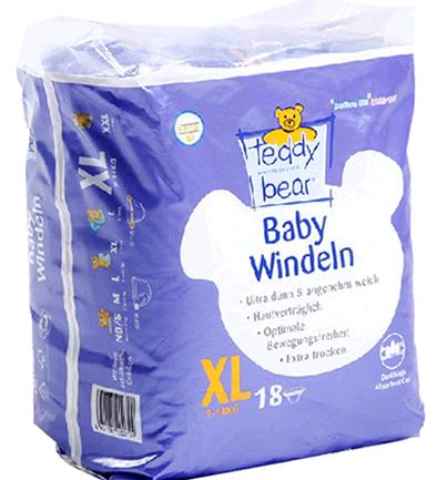 泰迪熊紙尿褲加盟