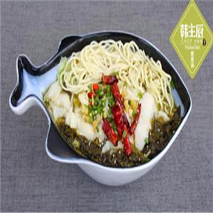 韩主厨酸菜鱼饭加盟