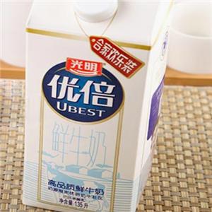 优倍牛奶加盟