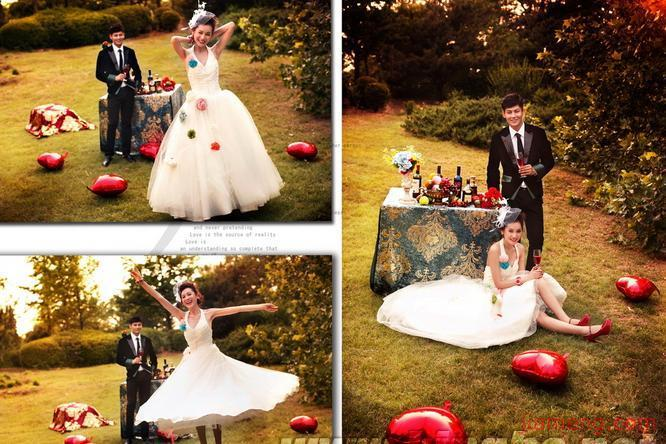 青禾个性婚纱摄影招商加盟