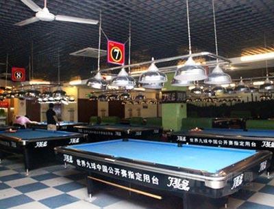 上海久斯台球招商加盟