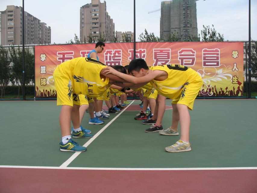 五环篮球训练营邀请体验加盟