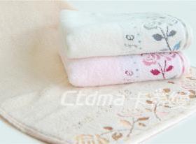 卡帝缦玫瑰毛巾招商加盟