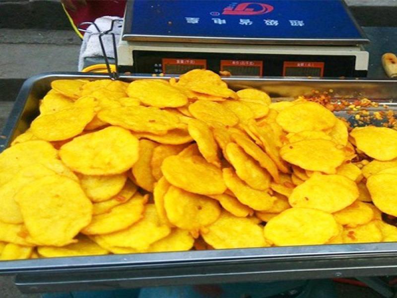 石磨玉米粗糧餅小吃車招商加盟