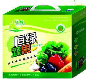 恒绿礼品蔬菜手提盒招商加盟