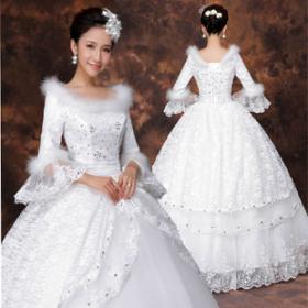 纯色嫁衣婚纱加盟