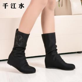 千江水女鞋招商加盟
