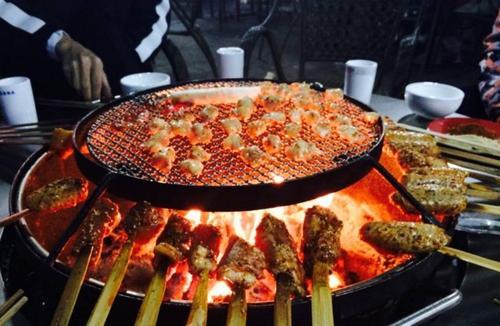 夜描夜描火盆烤肉代理加盟