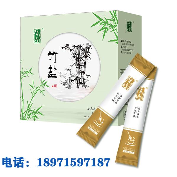 九烤竹盐竹盐代加工厂招商