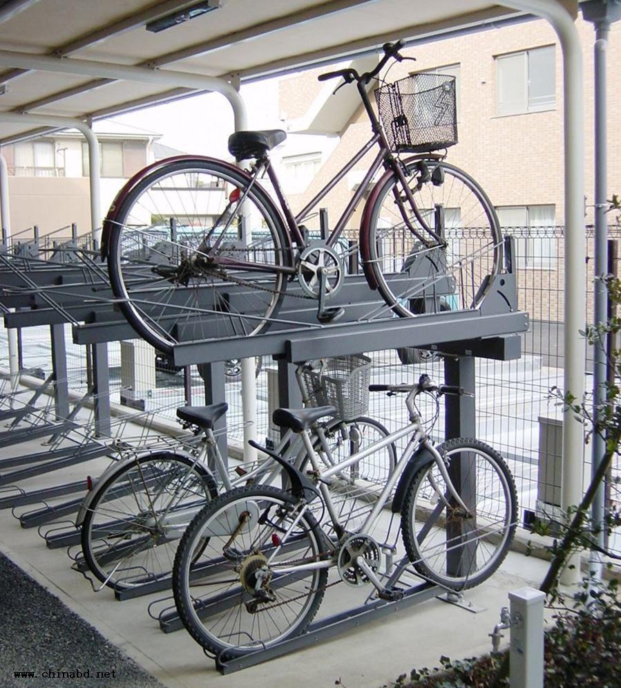 流行前线双层自行车库代理加盟