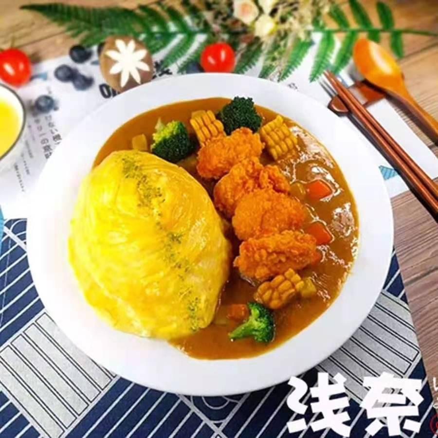 浅奈日式咖喱蛋包饭全国招商加盟